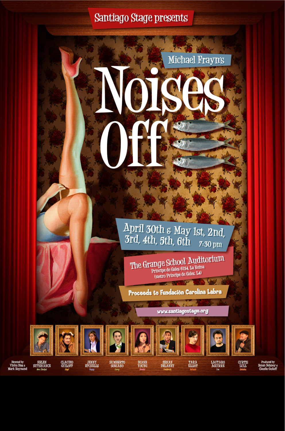 Noises off movie cast